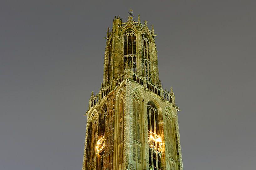 Domtoren in Utrecht van Donker Utrecht