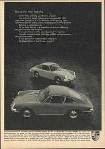 Werbung 1966 Porsche 911 912