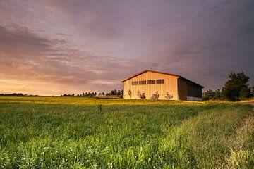 paysage, grange sur Joep Deumes