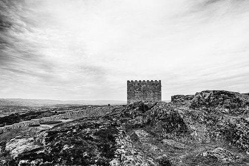 kasteel bij Celorico da Beira van