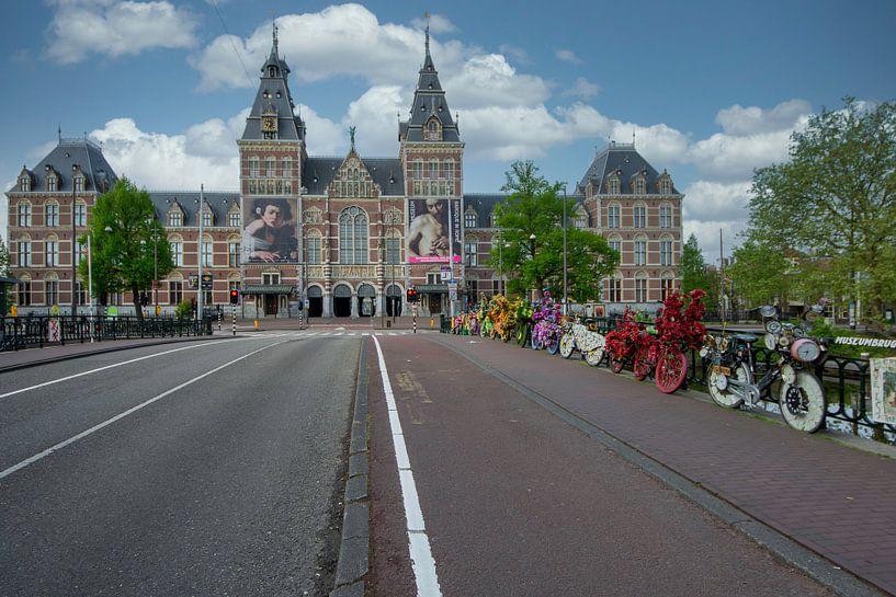 Rijksmuseum Amsterdam van Foto Amsterdam / Peter Bartelings