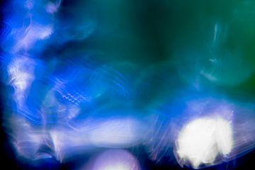 Blauwe en Paarse Hersengolven van