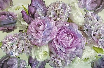 Nieuwe bloem - denk nieuw van Lizzy Pe