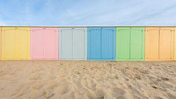 Maisons de stand colorées sur Max ter Burg Fotografie