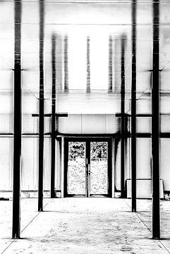 Linien am Bau 3) von Norbert Sülzner