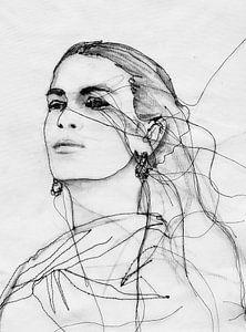 Frida Kahlo von Kim Rijntjes