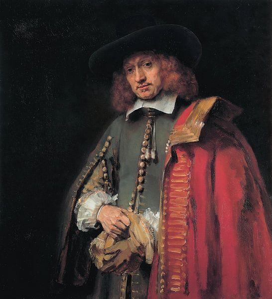 Portret van Jan Six, Rembrandt van Rembrandt van Rijn