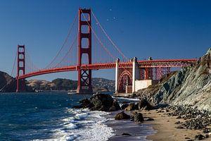 Golden Gate Brug van Dirk Rüter