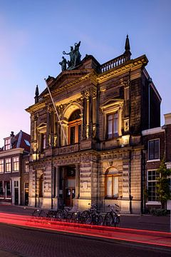 Teylers Museum voorkant van Teylers Museum
