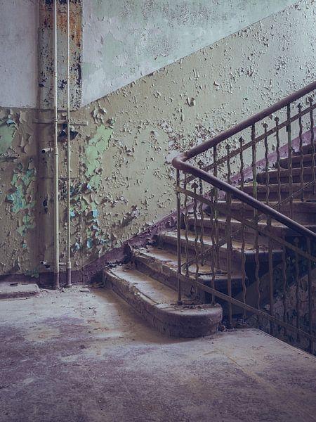Verlaten plekken: de trap von Olaf Kramer