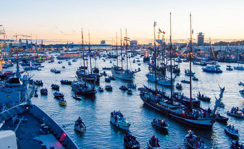 Sail Amsterdam van Alex Hiemstra