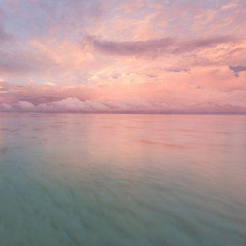 Sonnenaufgang Rarotonga von Laura Vink
