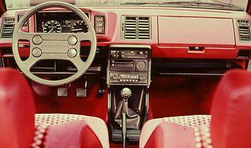 GTI intérieur années 70 sur Jaap Ros