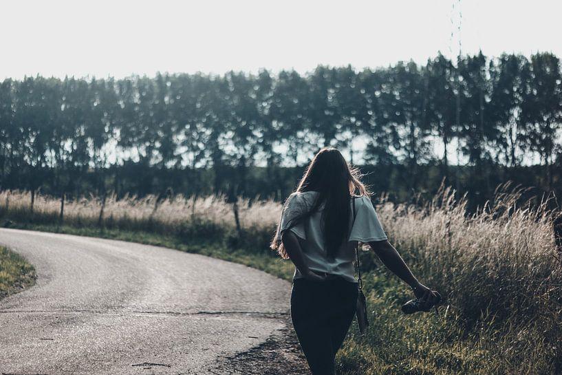 Spaziergang durch die Natur von Linda Blokland
