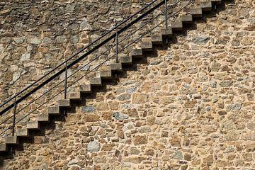 Treppe hinauf oder hinunter gehen von Yke de Vos