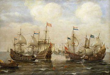 Kampf zwischen den Spaniern und den Niederländern, Cornelisz Verbeecq von