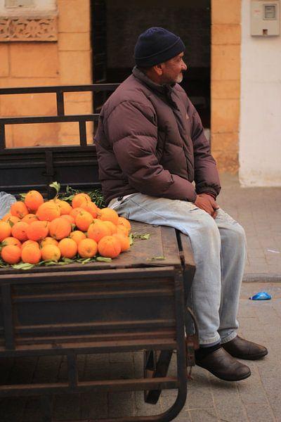 Sinaasappel kraampje van Lisette van Oosterhout