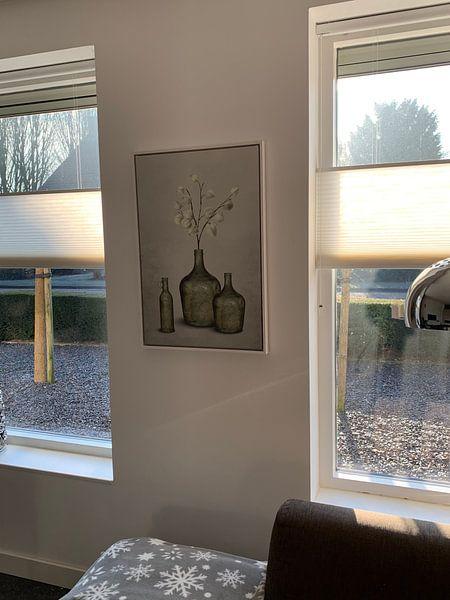Kundenfoto: Graublau in Vasen von Color Square