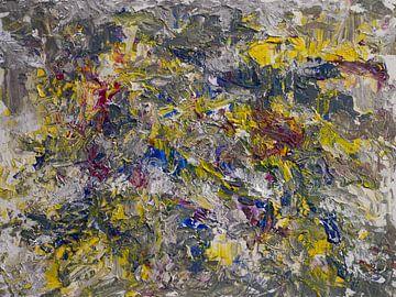 abstrakte Zusammensetzung X von Paul Nieuwendijk
