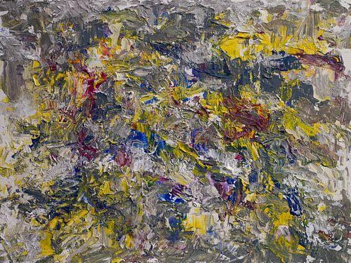 abstracte compositie X