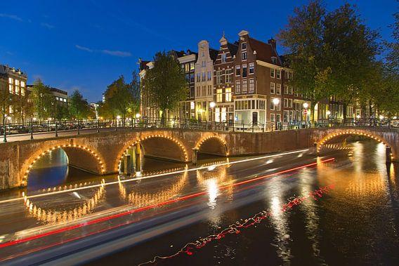Grachten Amsterdam van Anton de Zeeuw
