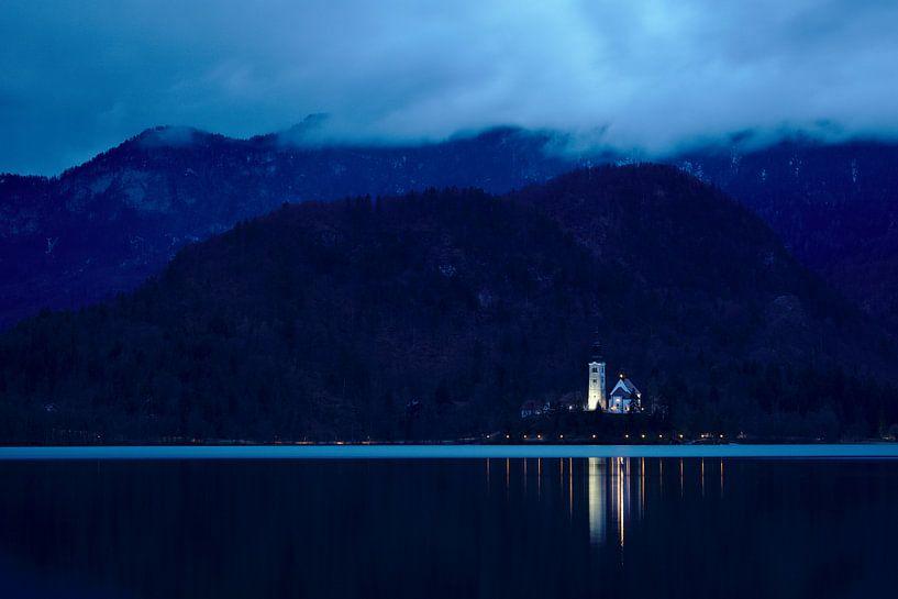 Beleuchtete Kirche von Sander Knopper