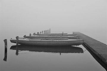 Boote auf dem Wasser von Foto's van EL