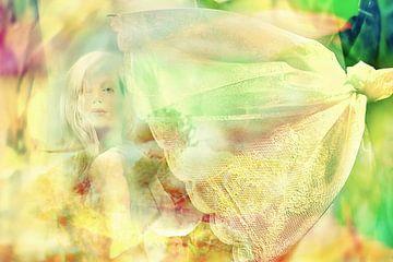 Zomer in geel en groen van Marianna Pobedimova