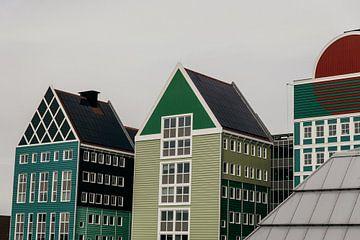 Häuser in Zaanstad von Dayenne van Peperstraten