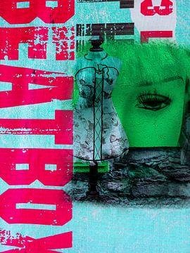 The green face and BEATBOX van Gabi Hampe