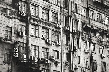 Gebäude in Shanghai von Erik Juffermans