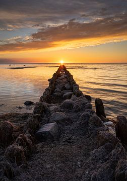 Perfecte zonsondergang von Melvin Jonker