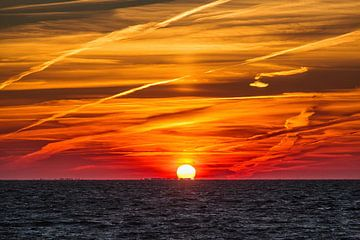Sonnenaufgang in Oosterleek von Rob Boon