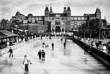 IJsbaan Museumplein von Arjan Blok