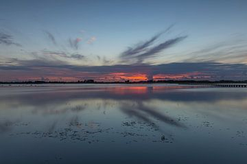 Sonnenuntergang 't Roegwold (Slochteren - Niederlande) von Marcel Kerdijk