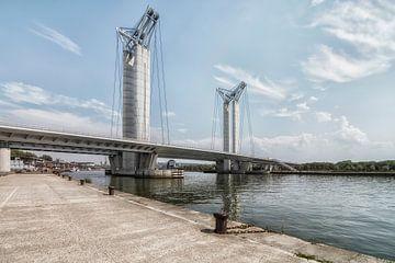Pont Gustave-Flaubert van Jan de Jong