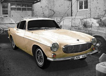Volvo P1800 in antique-beige von aRi F. Huber