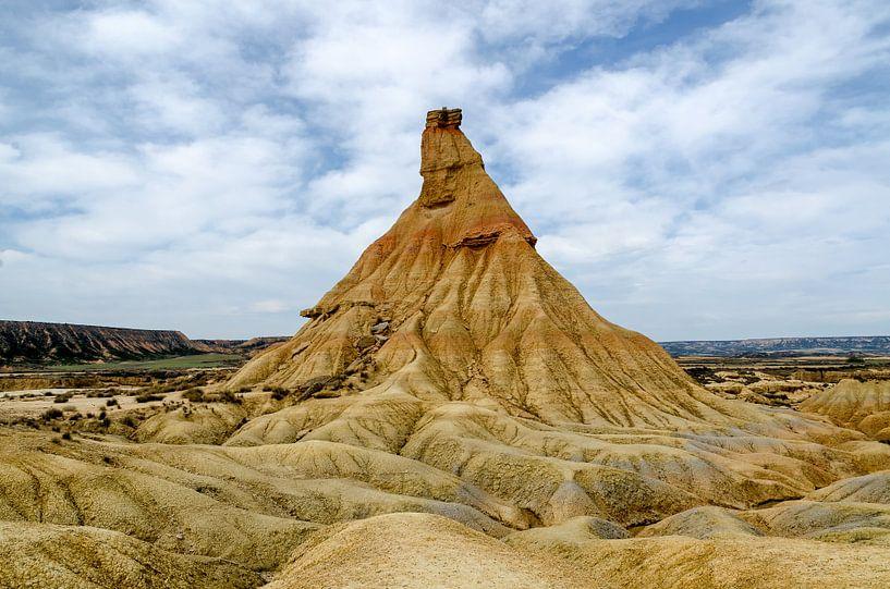 Woestijn in Spanje - Bardenas Reales van Hannie Kassenaar