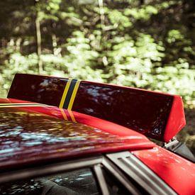 Lancia Delta Integrale Evo Spoiler alert van Sytse Dijkstra