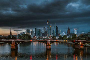 Skyline Frankfurt am Main von Heiko Lehmann