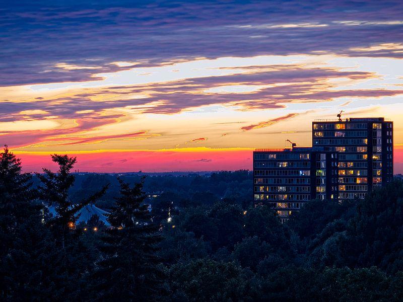 Sonnenuntergang von Willy Backhaus