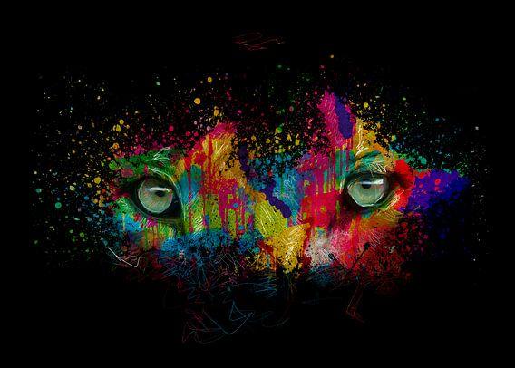 leeuwen ogen