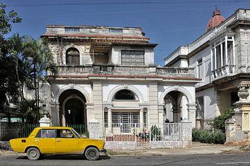 Oude auto in Havana,Cuba. von Tilly Meijer