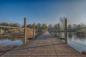 Loopbrug park Frankendael van Amsterdam Fotografie (Peter Bartelings)