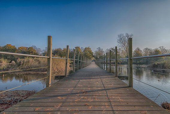Loopbrug park Frankendael