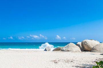 Colombiaans strand van Tim van Breukelen