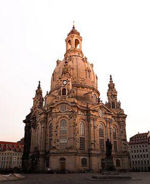 Dresden's Frauenkirche van Tobias Richter