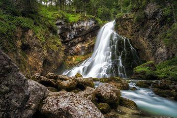 Gollinger Wasserfall van Martin Podt