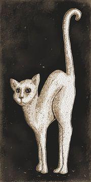 De Witte Kat von Nathalie Antalvari