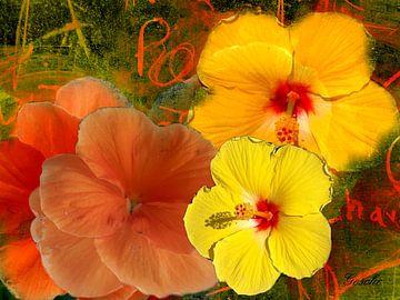 Florale Spielerei van Gertrud Scheffler